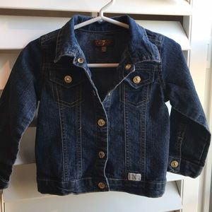 Seven for All Mankind jean jacket 24M